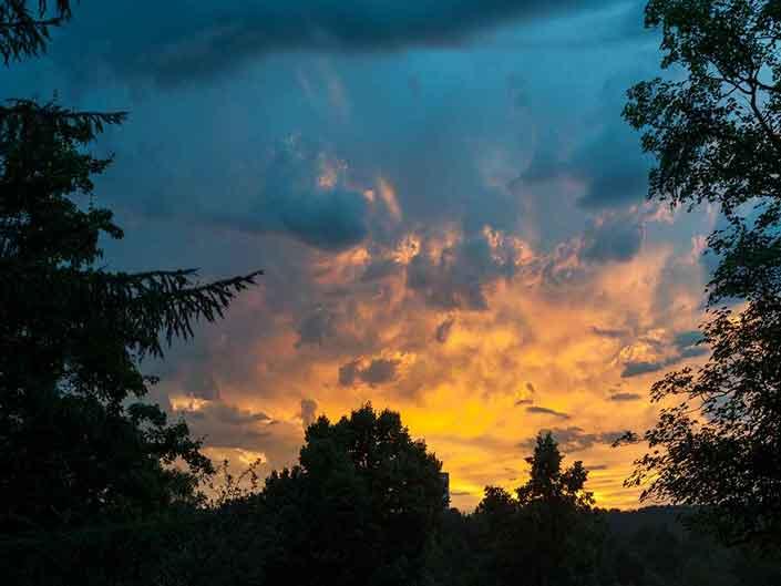 Marga Werner – Himmel vor meinem Balkon