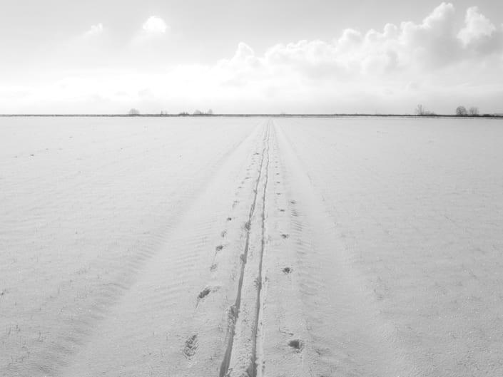 Ralf Blackstein Schneelandschaft
