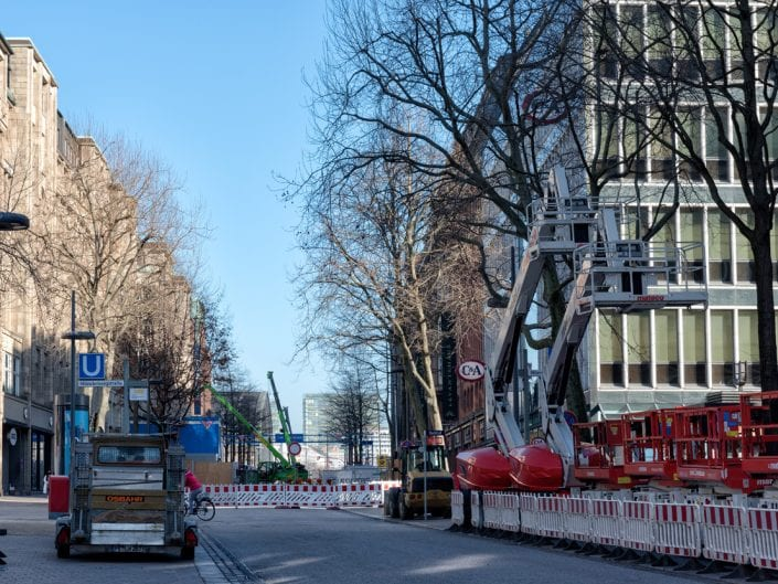 Marga Werner - Hamburg-Innenstadt Lockdown in Coronazeiten